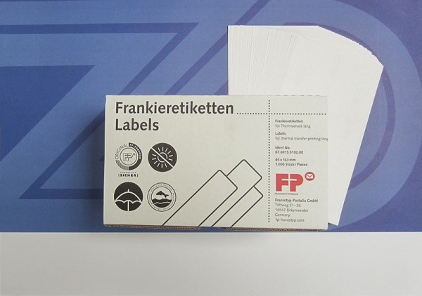Optimail / Optimail 30 Frankieretiketten 45x163mm