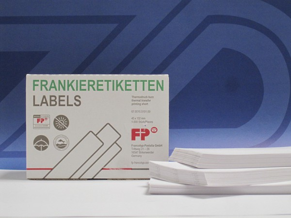 Optimail / Optimail 30 Frankieretiketten 45x132mm